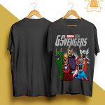 Marvel German Shepherd GSvengers Shirt