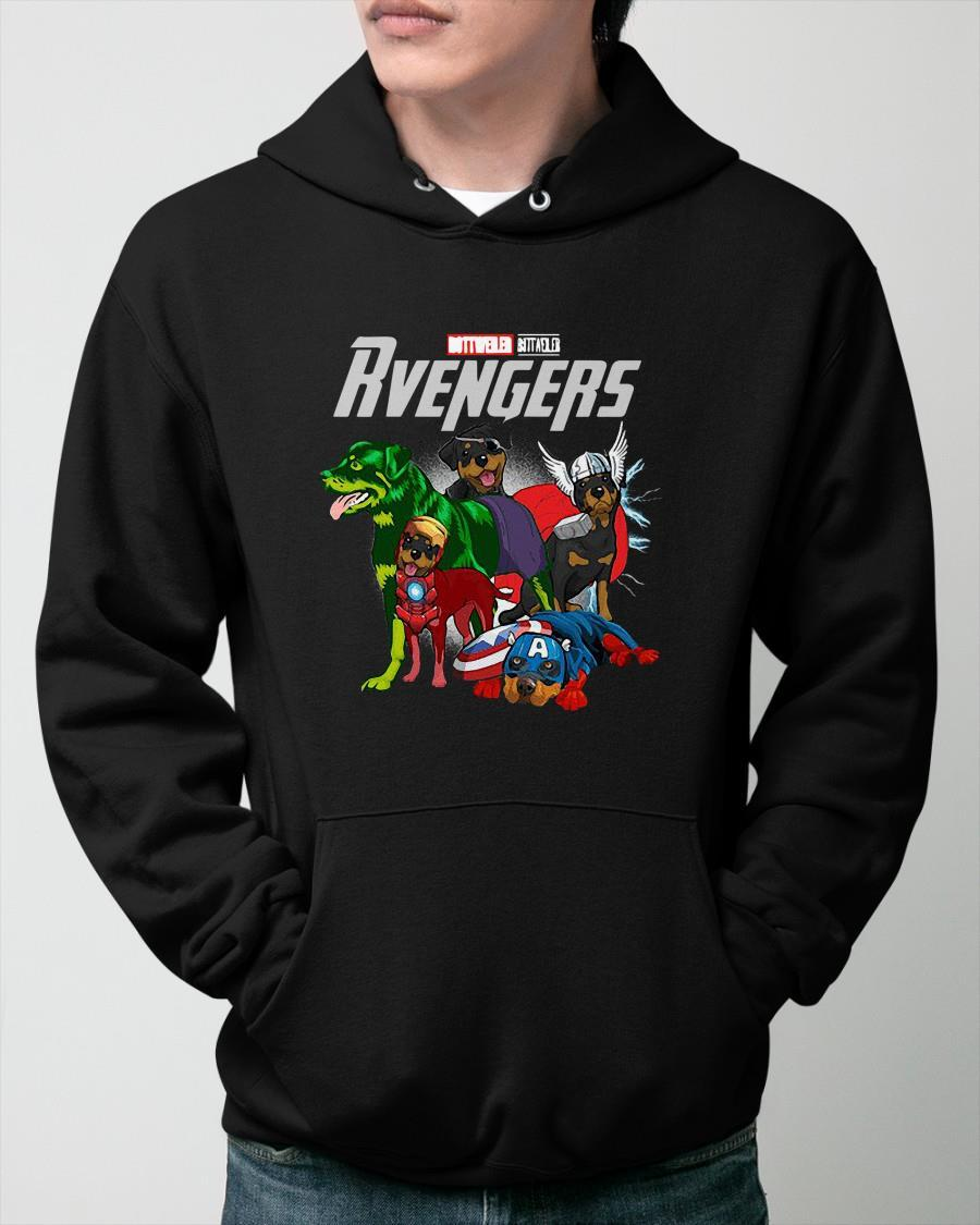 Marvel Rottweiler Rvengers Hoodie