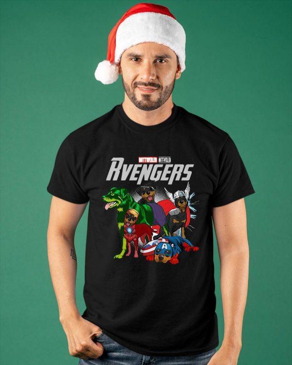 Marvel Rottweiler Rvengers Shirt