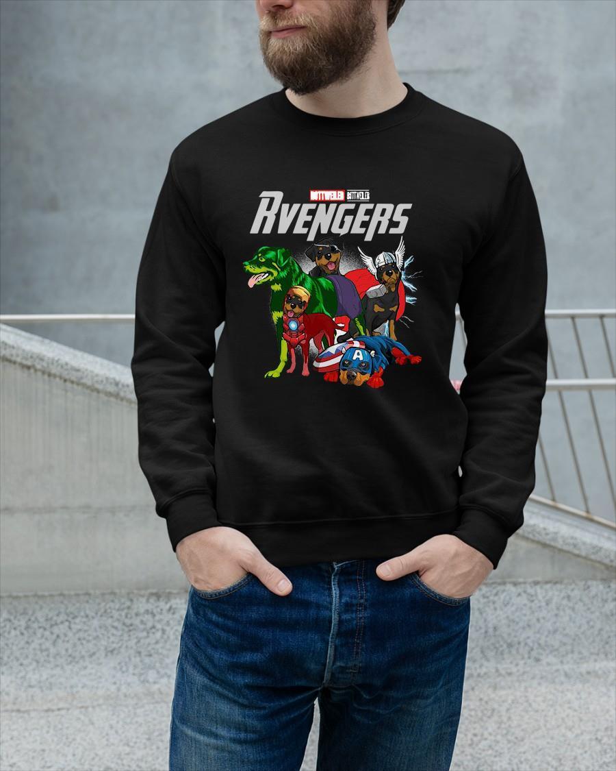 Marvel Rottweiler Rvengers Sweater
