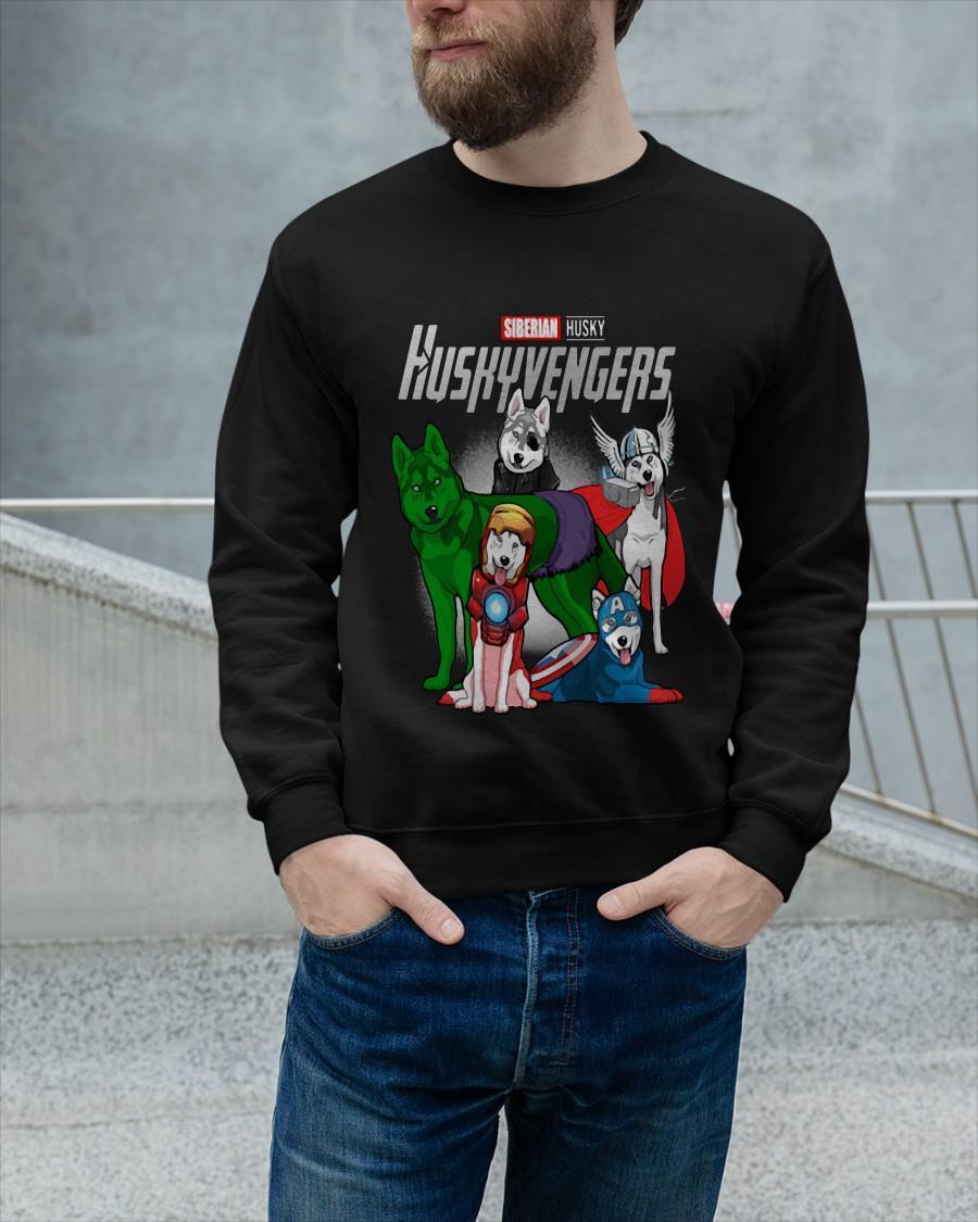 Marvel Siberian Husky Huskyvengers Longsleeve