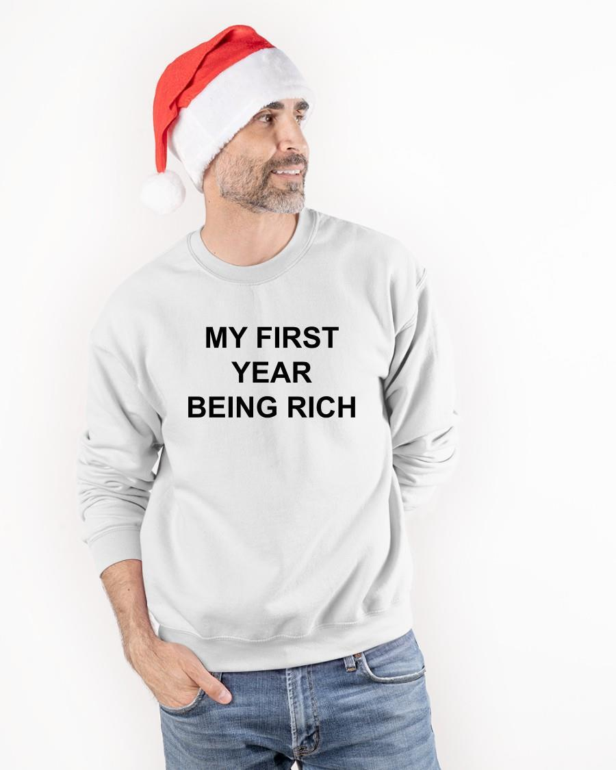 My First Year Being Rich Sweater