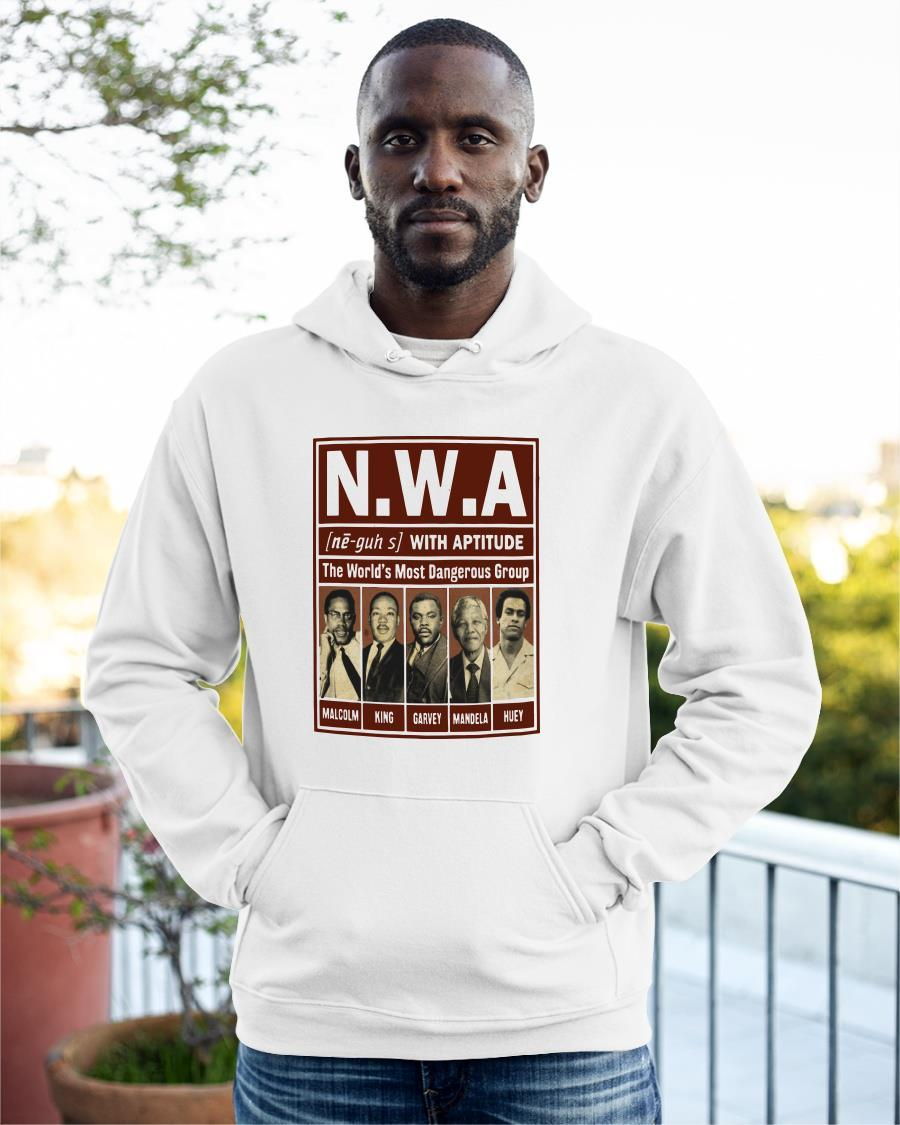 Nwa With Aptitude The World's Most Dangerous Group Hoodie
