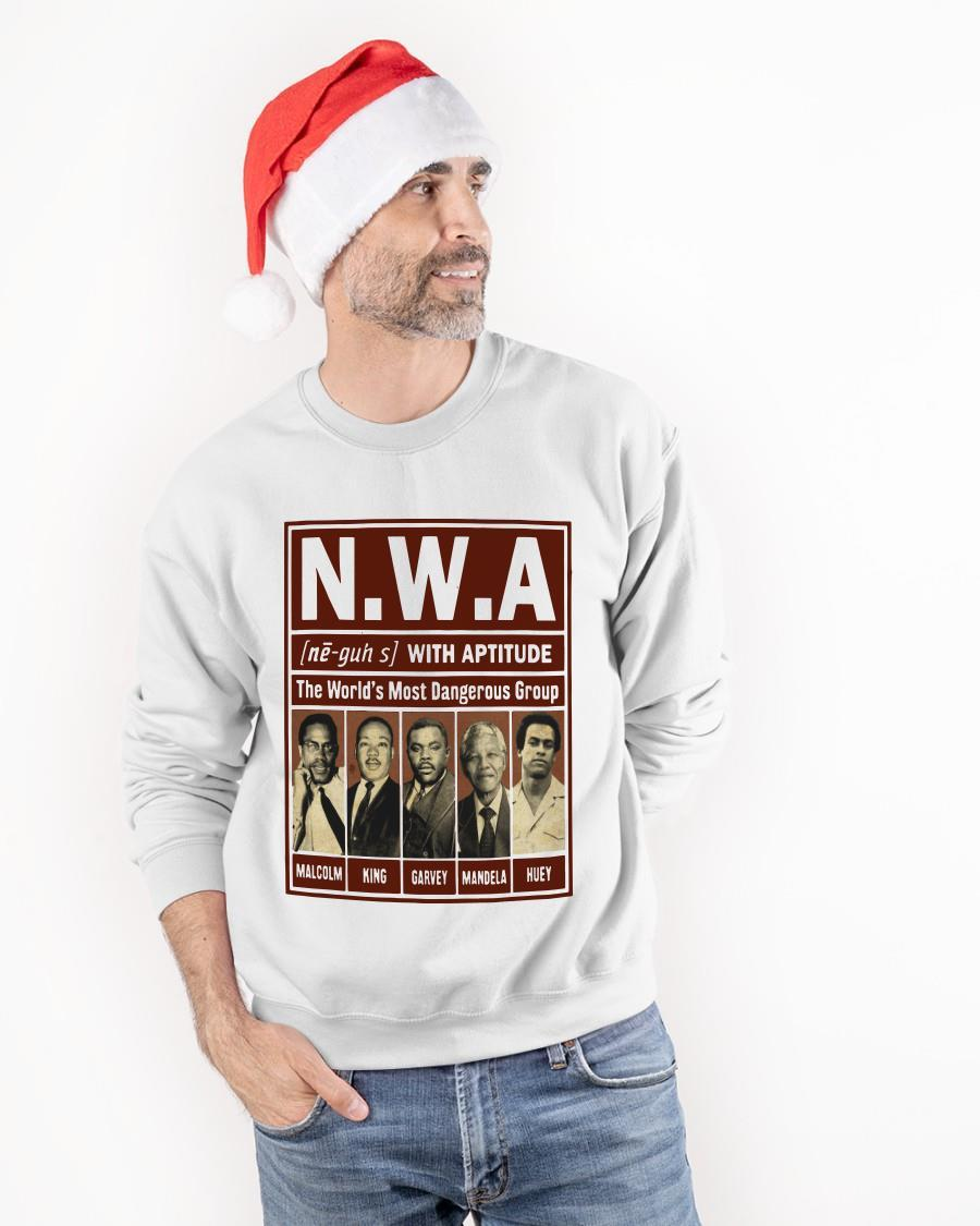 Nwa With Aptitude The World's Most Dangerous Group Longsleeve