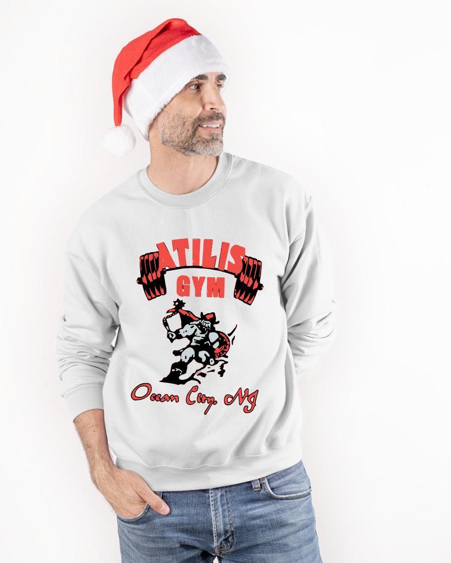 Ocean City Nj Atilis Gym T Sweater