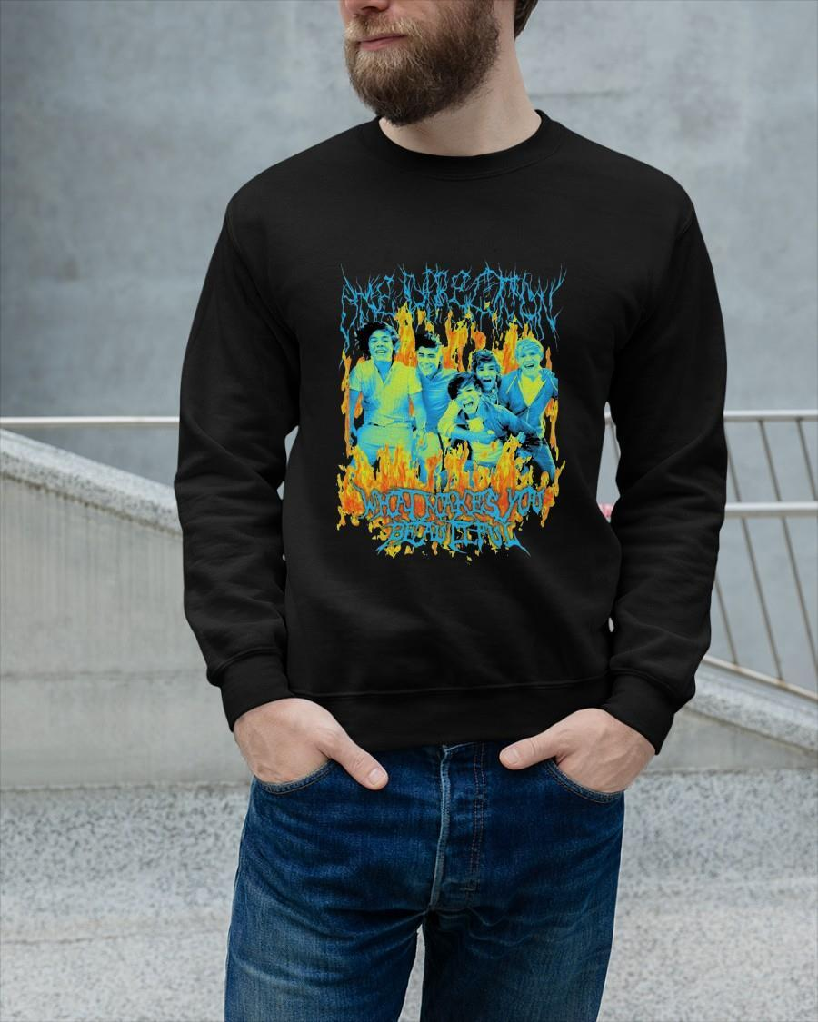 One Direction What Makes You Beautiful Longsleeve