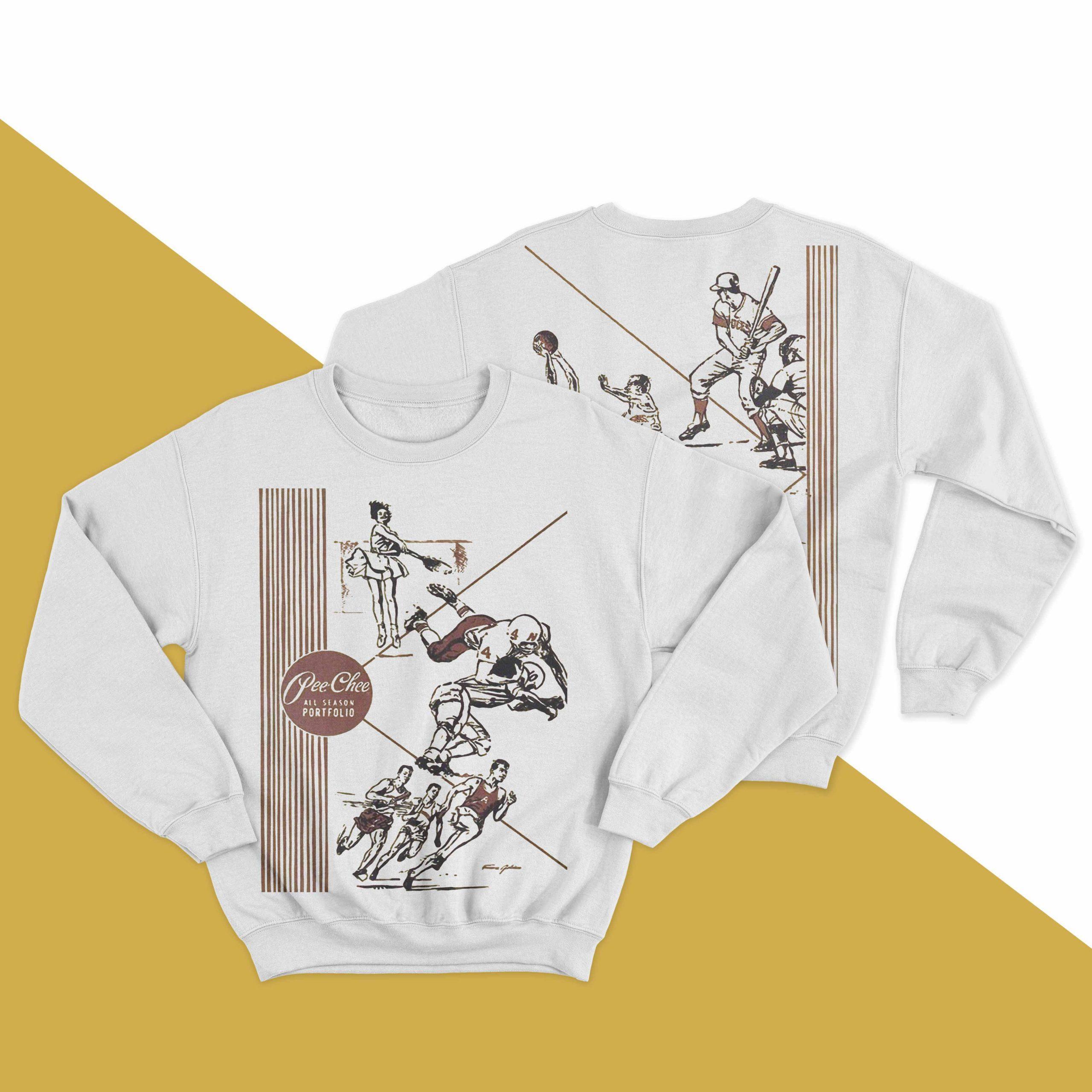 Pee Chee All Season Portfolio Sweater