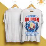 President Joe Biden Seal Of The President Of The United Inauguration Day Shirt