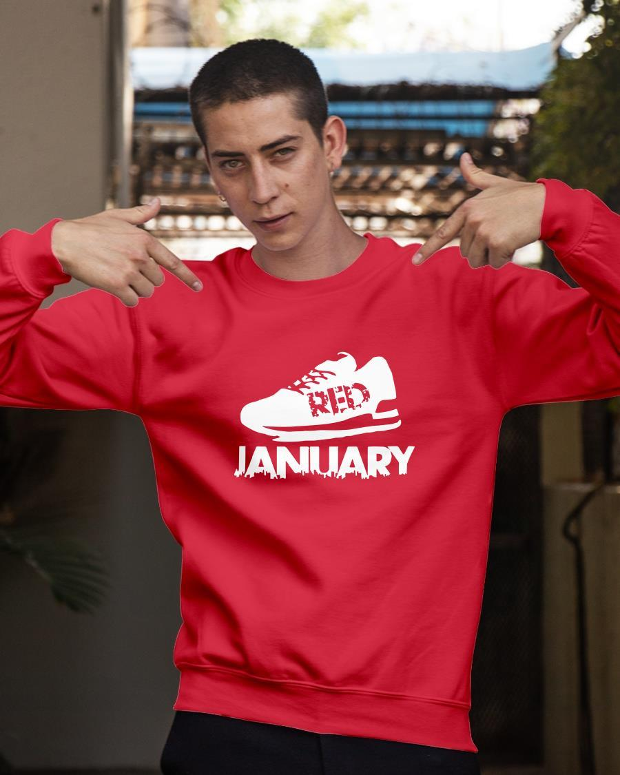 Red January 2021 T Longsleeve