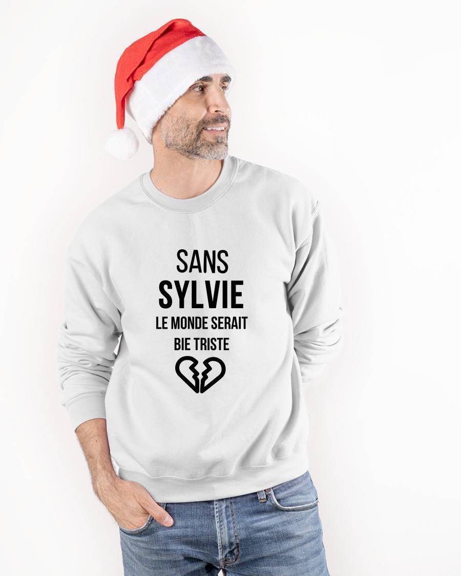 Sans Sylvie Le Monde Serait Bien Triste Tank Top