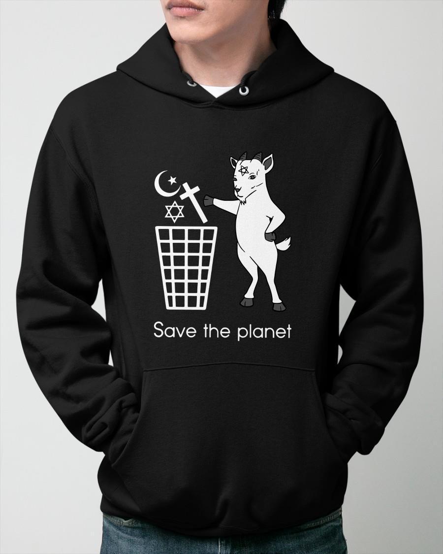 Satan Save The Planet Hoodie