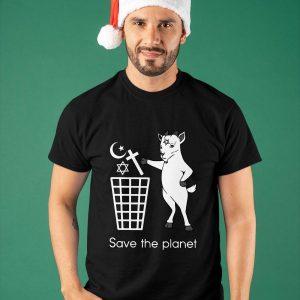 Satan Save The Planet Shirt