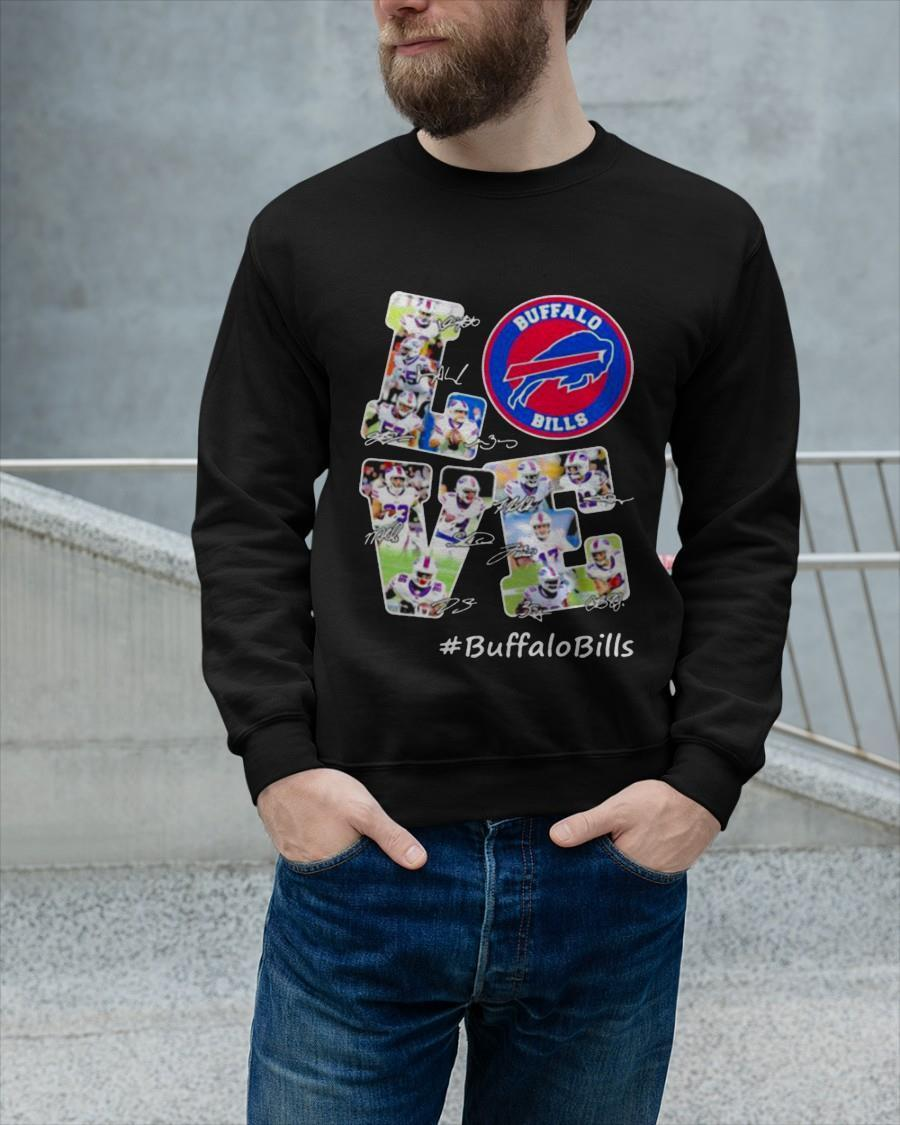 Signature Football Team Love Buffalo Bills Longsleeve