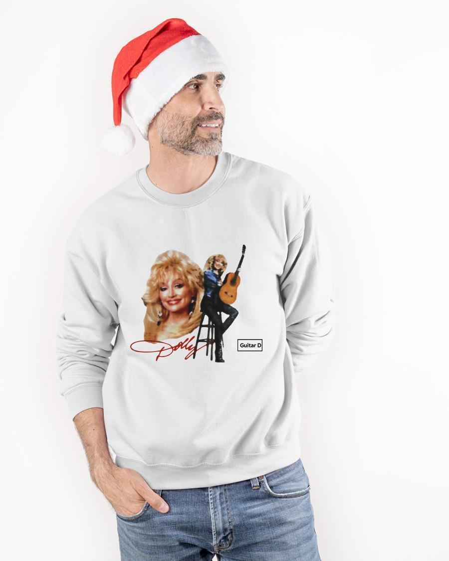 Signature Guitar Dolly Parton Sweater