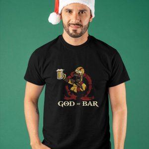 Simpson God Of Bar Shirt
