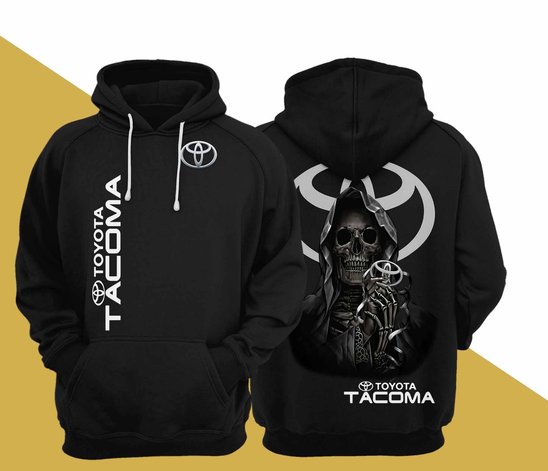 Skull Death Toyota Tacoma Hoodie