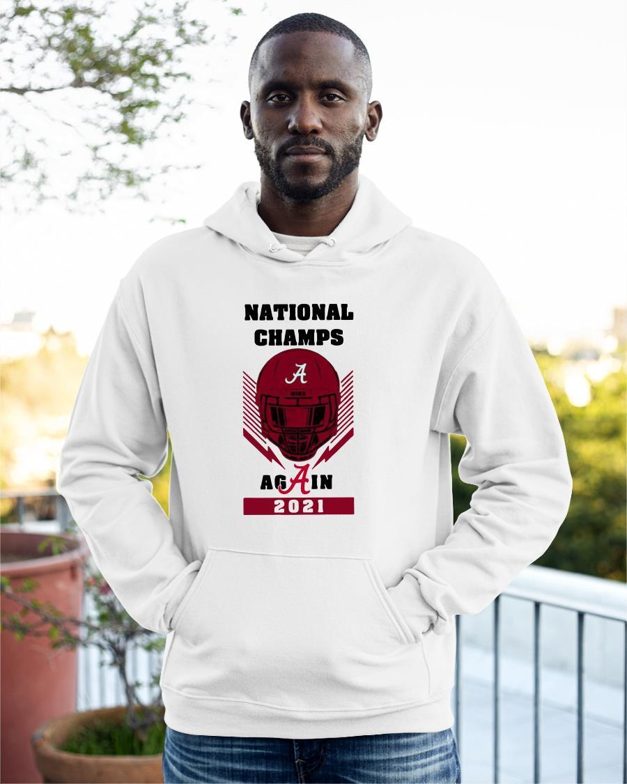 Skull National Champs Again Hoodie