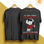 Snoopy My Body Knows How Old I Am But My Mind Refuses To Believe It Shirt