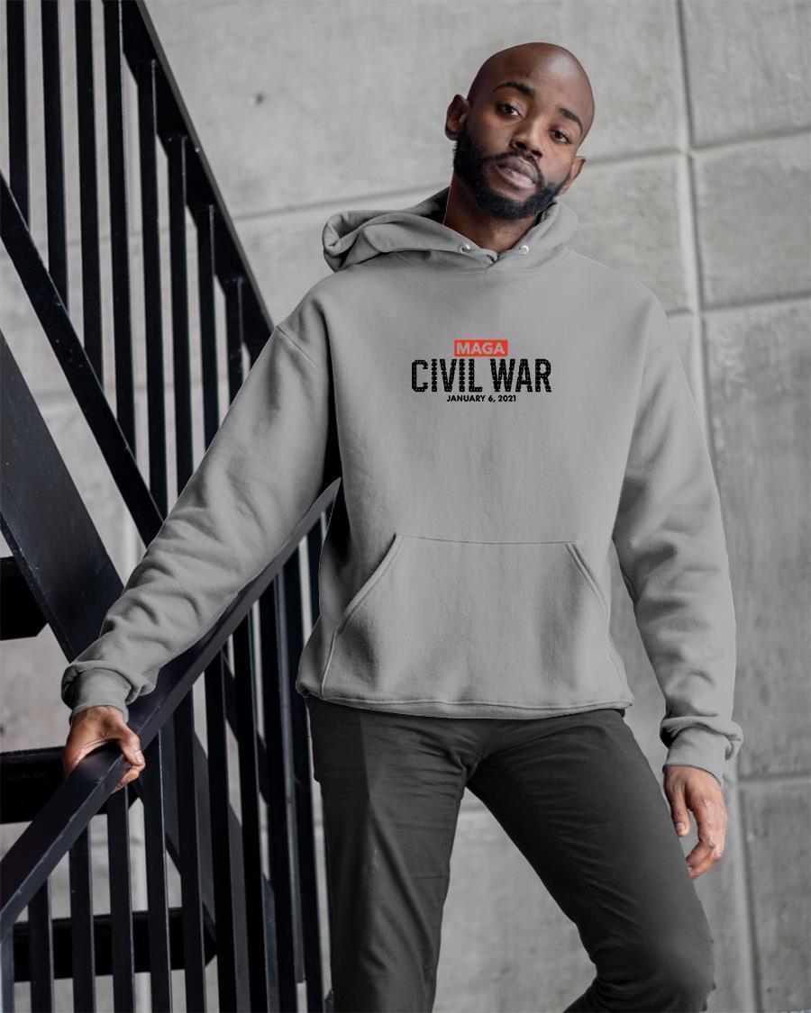 So Not Merry Maga Civil War January 6 2021 Hoodie