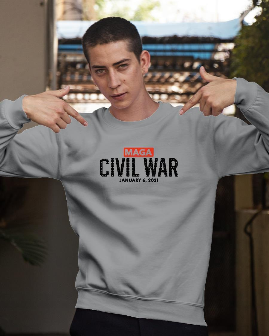So Not Merry Maga Civil War January 6 2021 Longsleeve