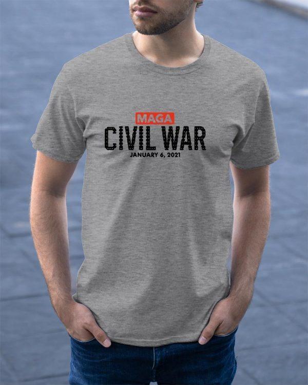So Not Merry Maga Civil War January 6 2021 Shirt