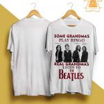 Some Grandmas Knit Real Grandmas Listen To The Beatles Shirt