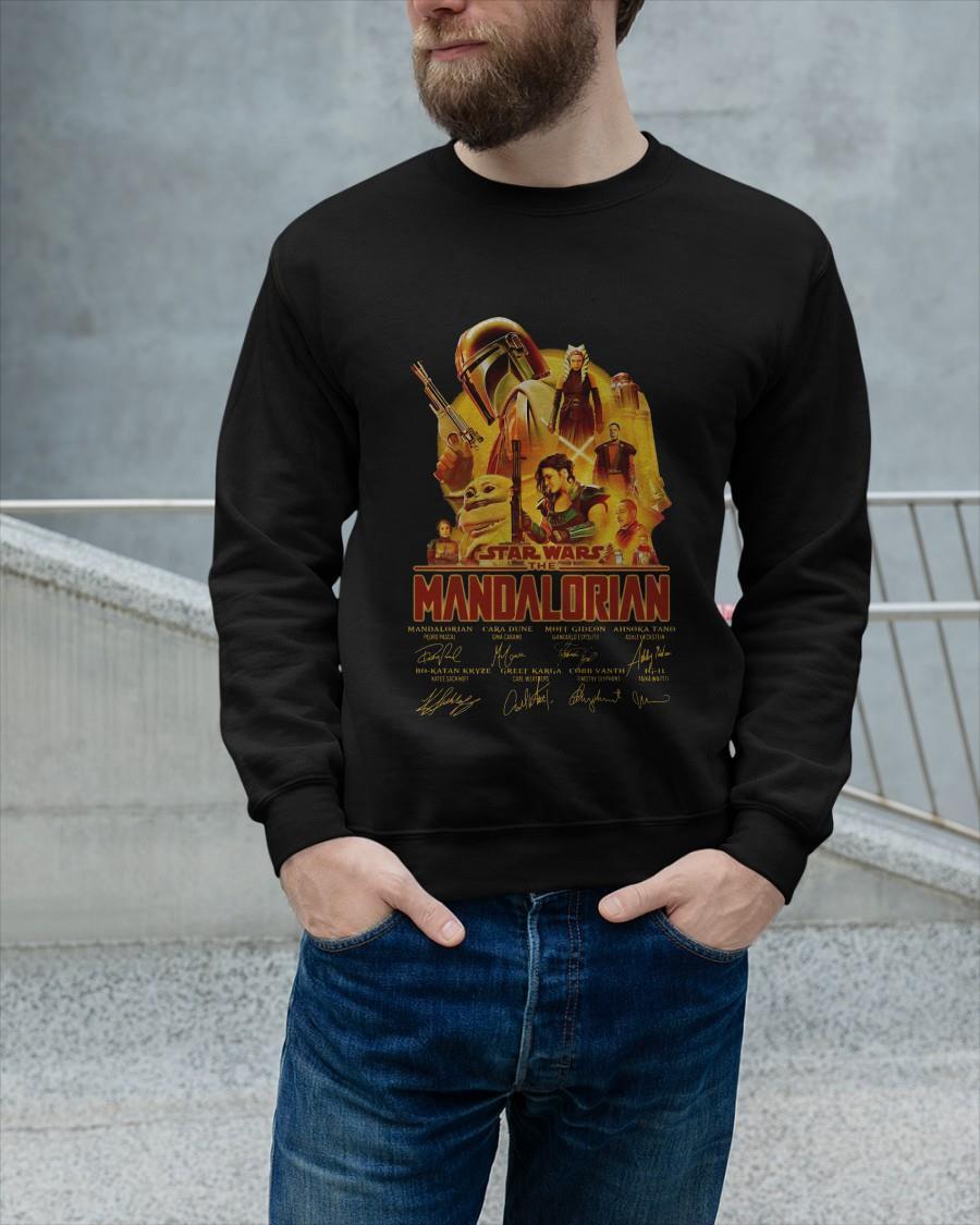Star Wars The Mandalorian Signatures Sweater