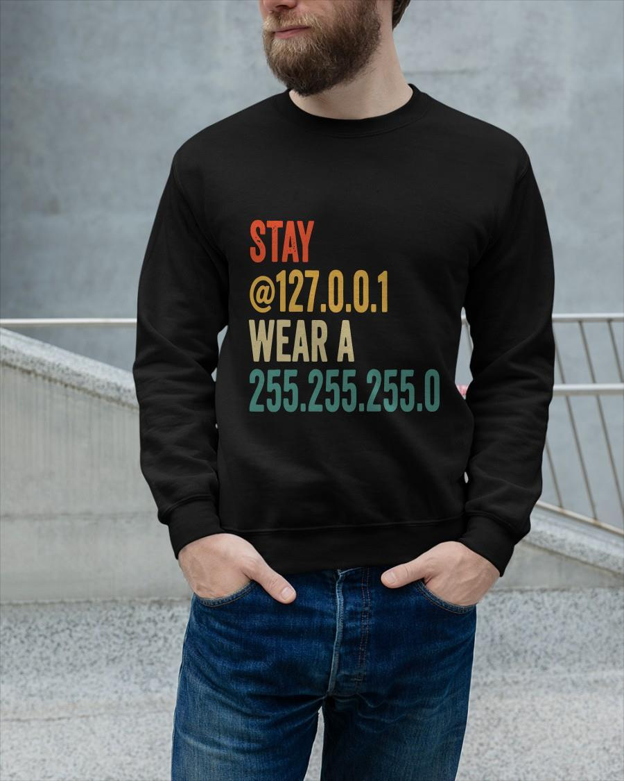 Stay 127 0 0 1 Wear A 255 255 255 0 Sweater