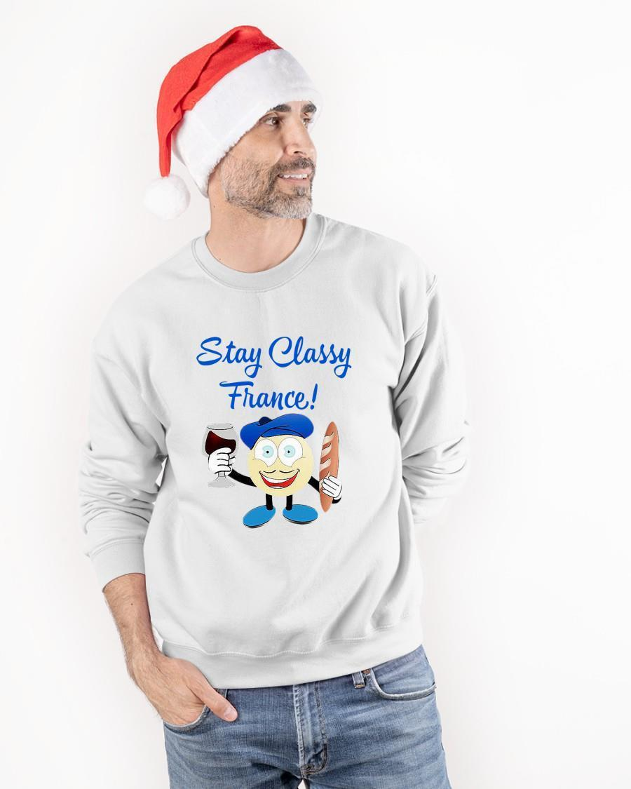Stay Classy France Sweater