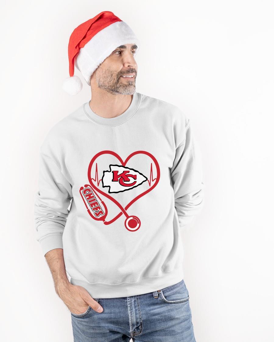 Stethoscope Kansas City Chiefs Sweater