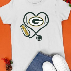 Stethoscopes Green Packers Shirt