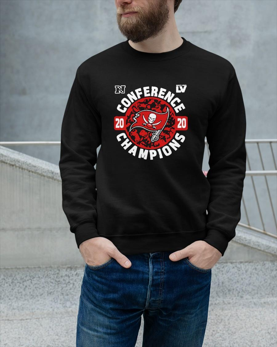 Tampa Bay Buccaneers Conference Champions 2020 Longsleeve