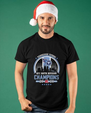 Tennessee Titans Afc South Division Champions 2020 Shirt