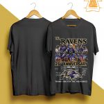 The Ravens 25th Anniversary Thank You For The Memories Shirt