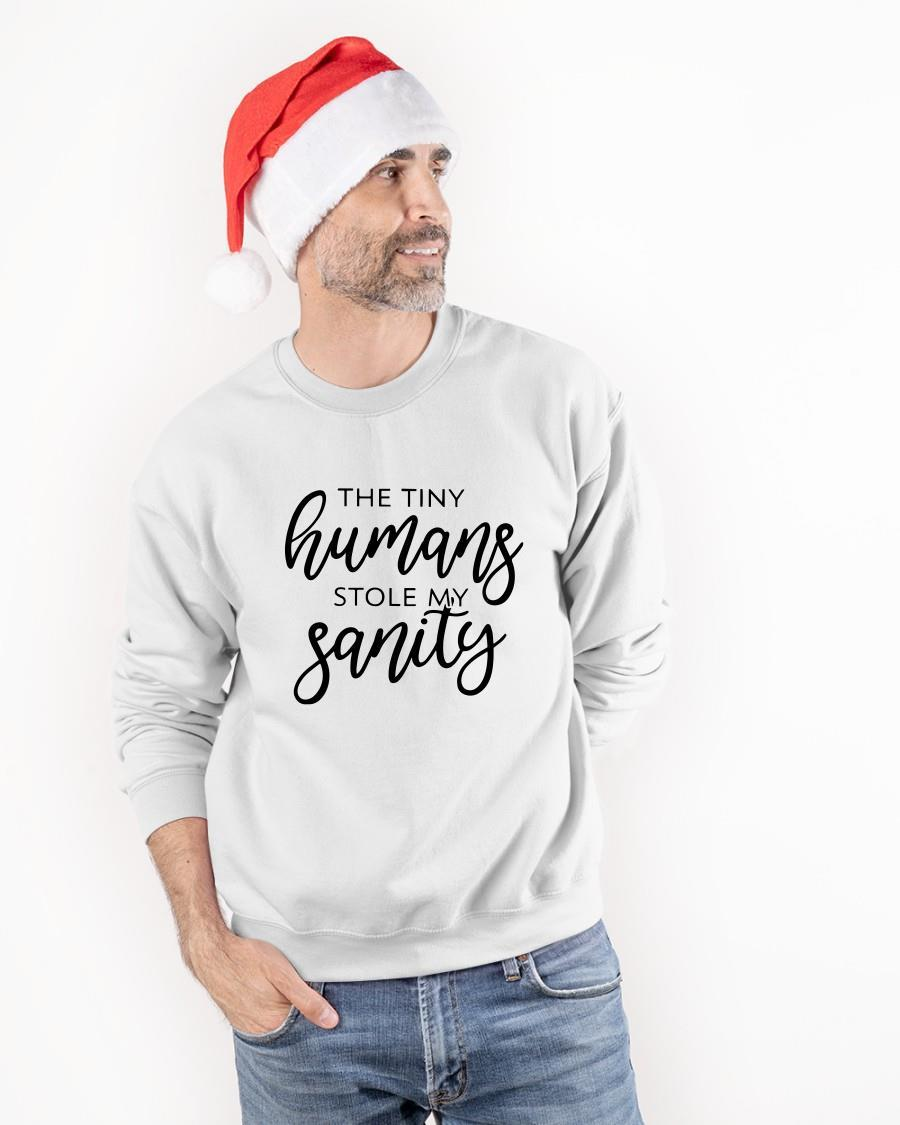 The Tiny Humans Stole My Sanity Sweater