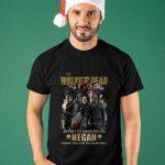 The Walking Dead Jeffrey Dean Morgan Negan Thank You For The Memories Shirt
