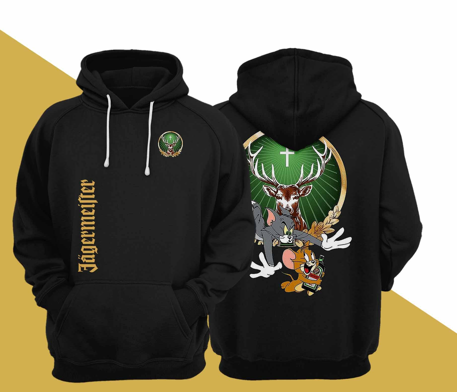Tom And Jerry Jagermeister Hoodie