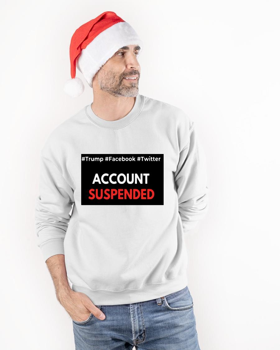 Trump Facebook Twitter Account Suspended Sweater