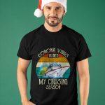 Vintage Corona Virus Ruined My Cruising Season Shirt