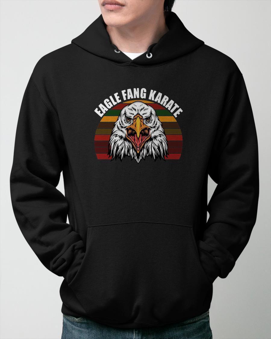 Vintage Eagle Fang Karate Hoodie