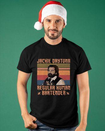 Vintage Jackie Daytona Regular Human Bartender Shirt