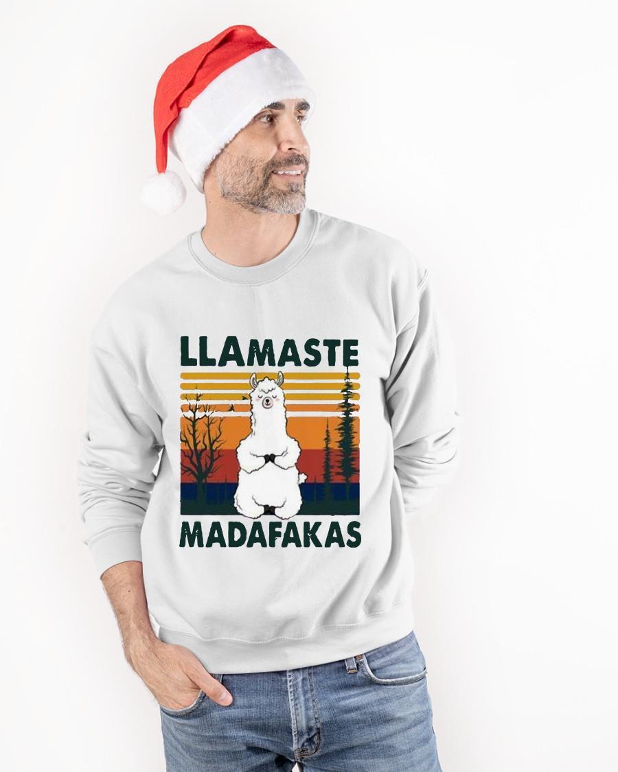 Vintage Llamaste Madafakas Sweater