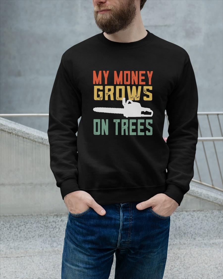 Vintage My Money Grows On Trees Sweater