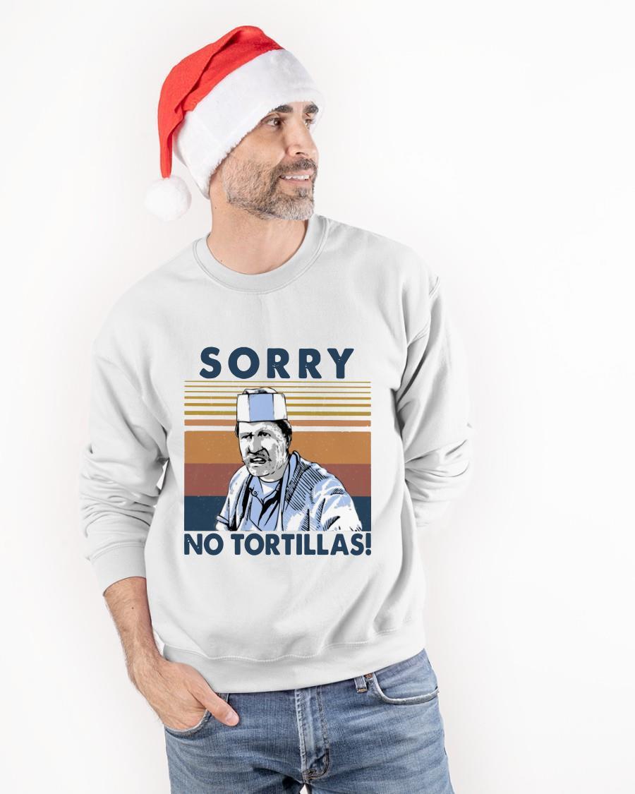 Vintage Sorry No Tortillas Sweater