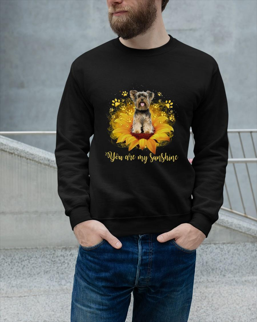 Yorkshire Terrier You Are My Sunshine Sweater