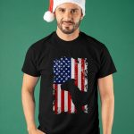 American Flag Pitbull Terrier Usa Flag Shirt