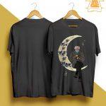 Bernie On The Moon The Man The Myth The Mittens Shirt