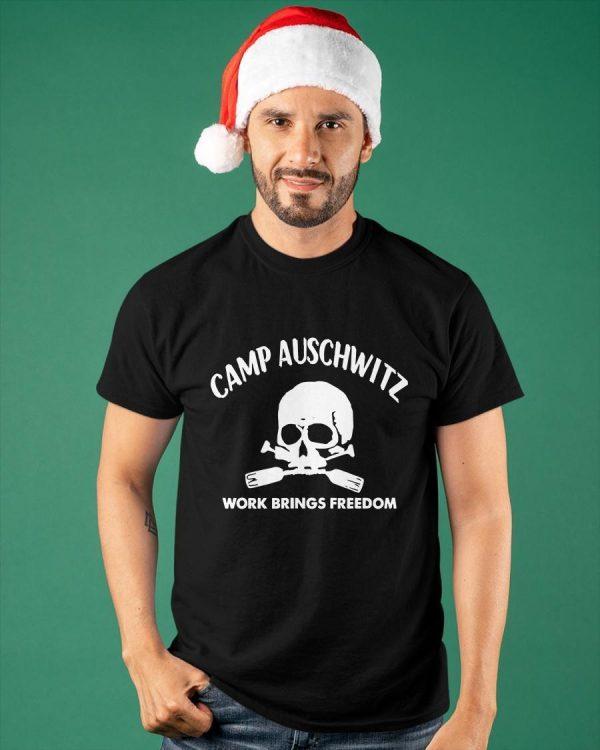 Camp Auschwitz Shirt Guy