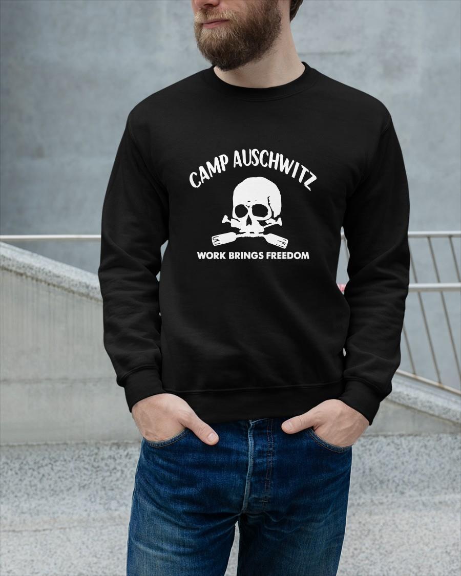 Camp Auschwitz Guy Sweater