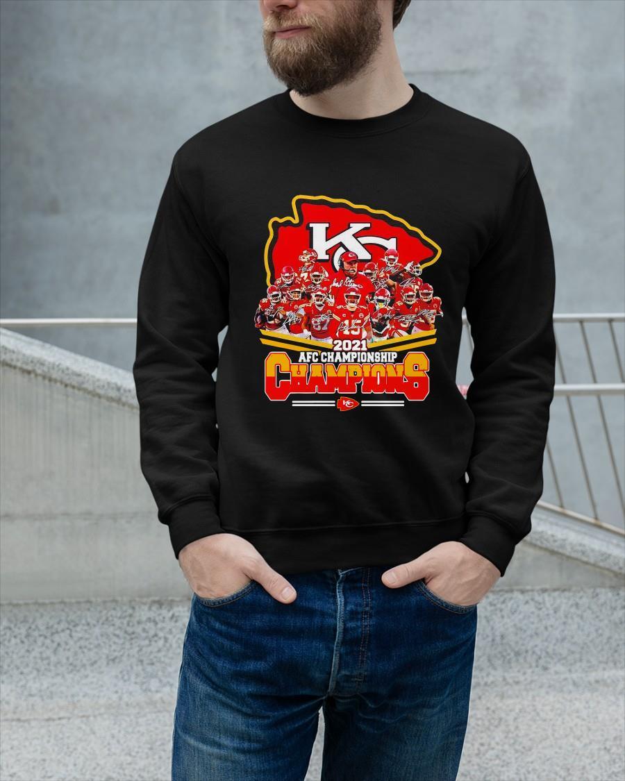Chiefs 2021 Afc Championship Champions Sweater